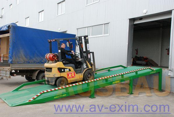 AUSBAU AUSBAU-ST Fixed ramp , Stacionarnaya rampa , Dock ramp , laadbrug rampa de carga móvil nueva
