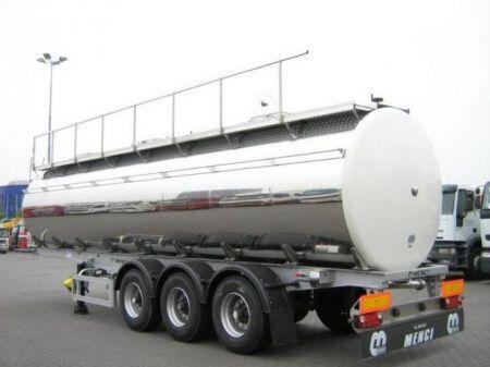 SANTI SANTI-MENCI pishchevaya cisterna BPW ECO-AIR SANTI-MENCI cisterna alimentaria nueva