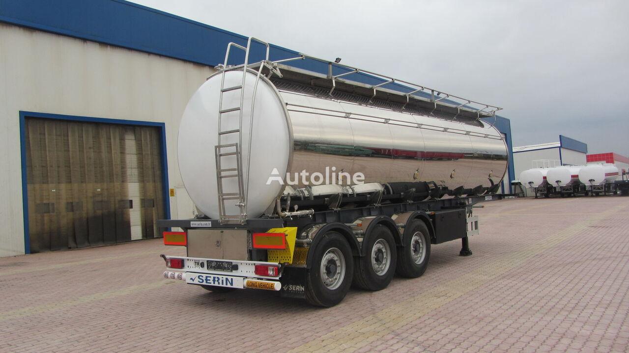 SERIN Food Staff fuel tank semi trailer cisterna alimentaria nueva