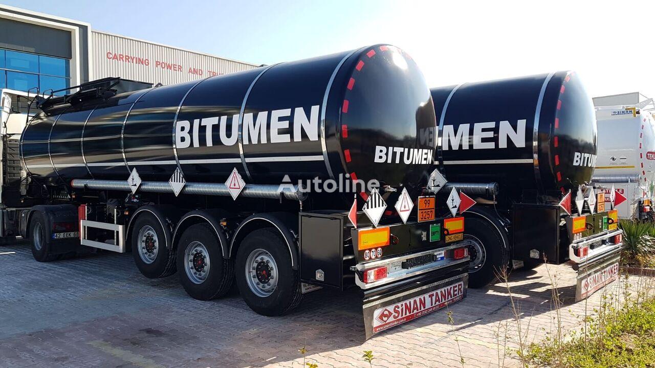 SINAN TANKER-TREYLER  BİTUM TANKER (SINAN) cisterna de betún nueva