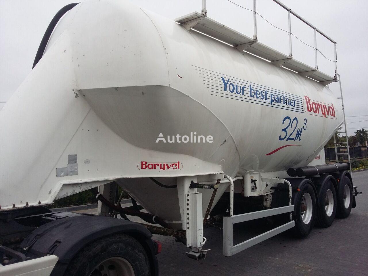 BARYVAL CB3AL32N cisterna de cemento