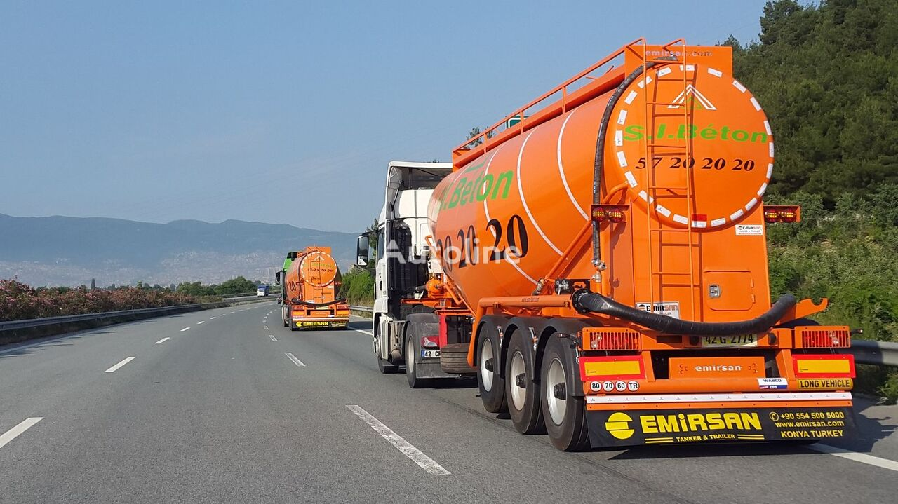 cisterna de cemento EMIRSAN Customized Cement Tanker Direct from Factory nueva
