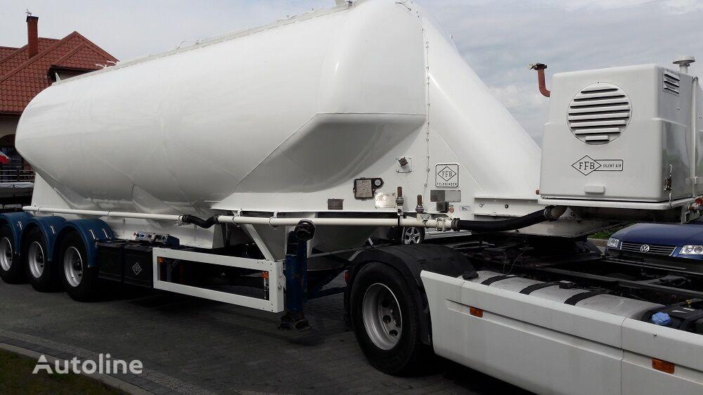 FELDBINDER EUT 40.3  2002 r  Diesel kompresor cisterna de cemento