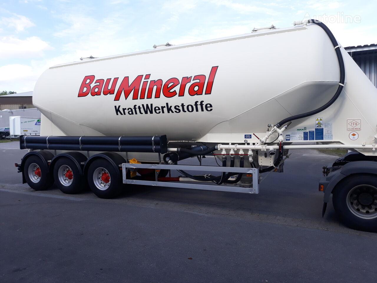 FELDBINDER Siolauflieger liegend 40M³ cisterna de cemento