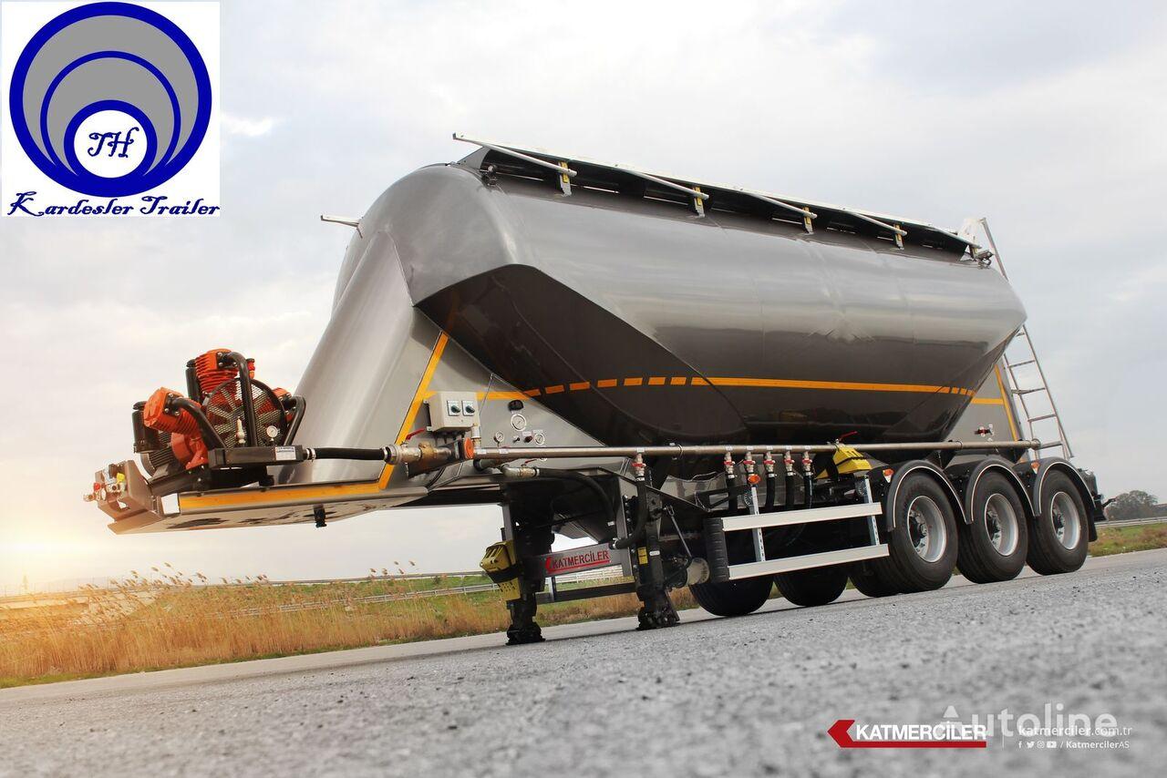 Katmerciler KardeslerTrailer cisterna de cemento nueva