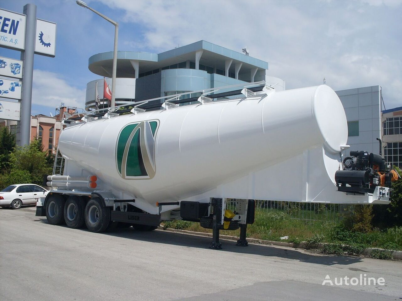 cisterna de cemento LIDER بلكر اسمنت مواصفات اوربية 2020 nueva