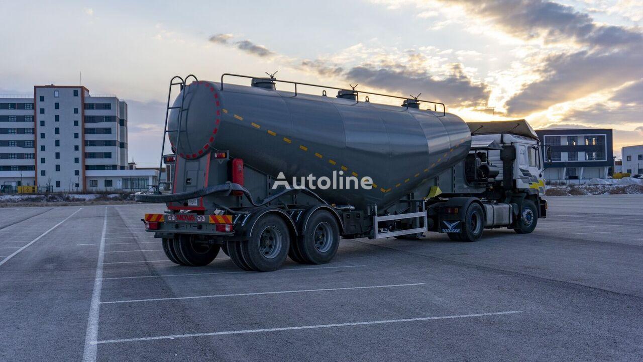 Nova 22 to 60 cbm V Type Cement Tanker Trailer cisterna de cemento nueva