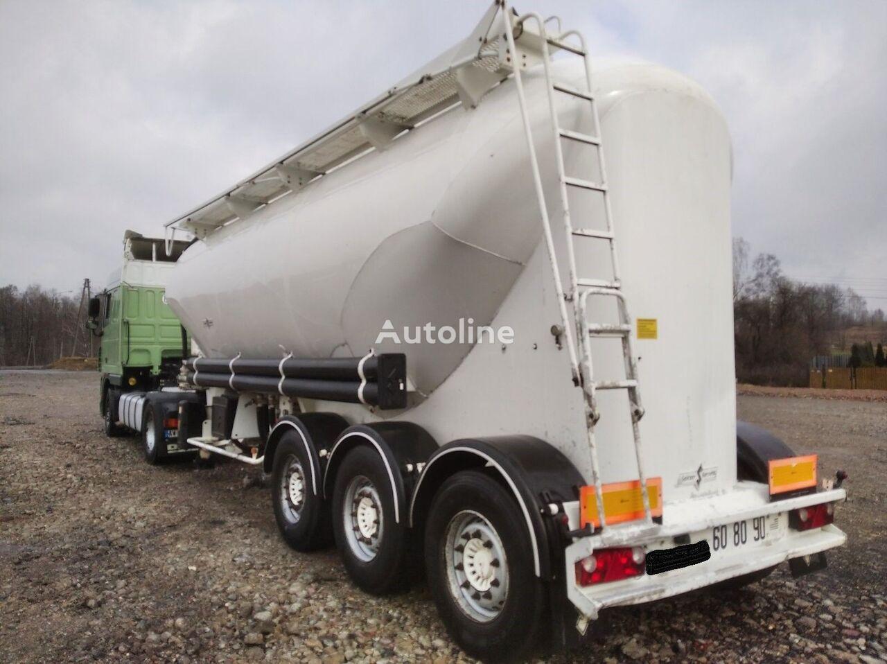 SPITZER SF2437       4520 KG  cisterna de cemento