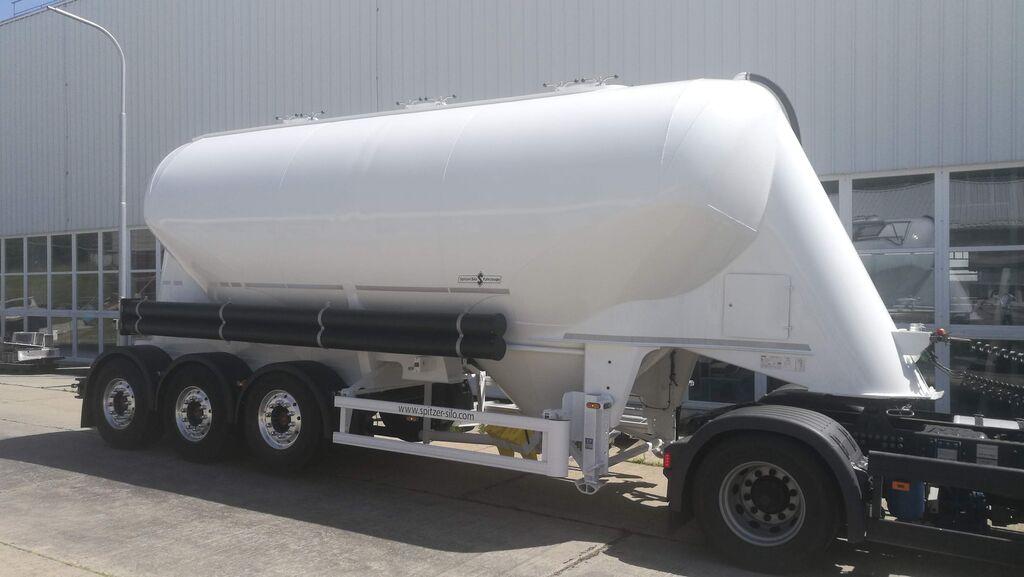 SPITZER SF2734/2P - 34 m3 CEMENT cisterna de cemento nueva