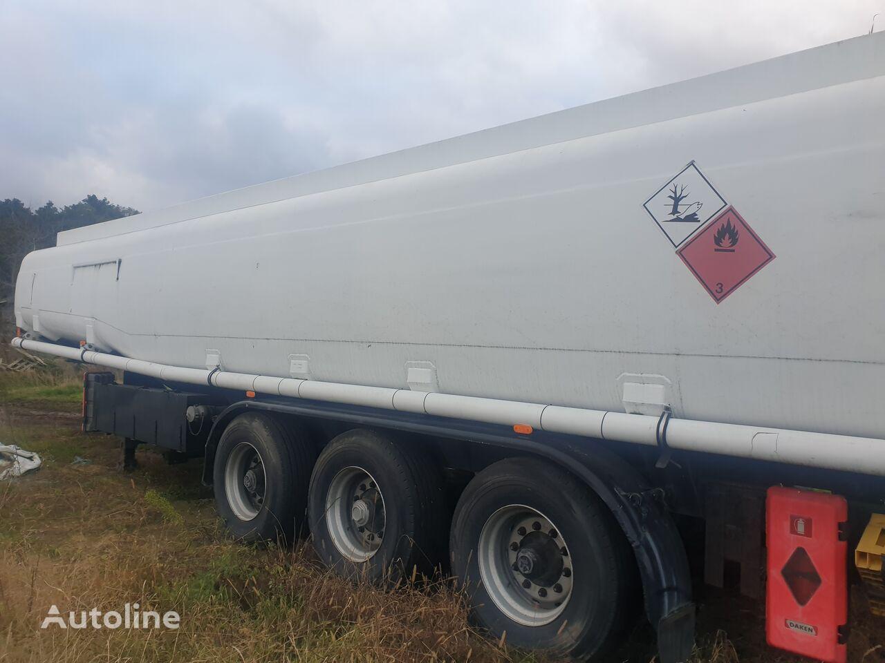 KASSBOHRER STB 41 cisterna de combustible