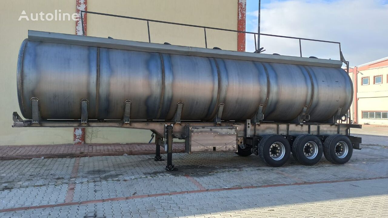 42.000 Lt Used Tanker Trailer with new tank body cisterna de combustible