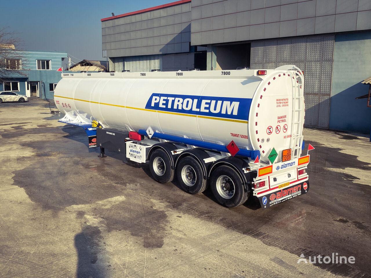 ALAMEN FuelTanker (Diesel-gasoline) for Sale  cisterna de combustible nueva