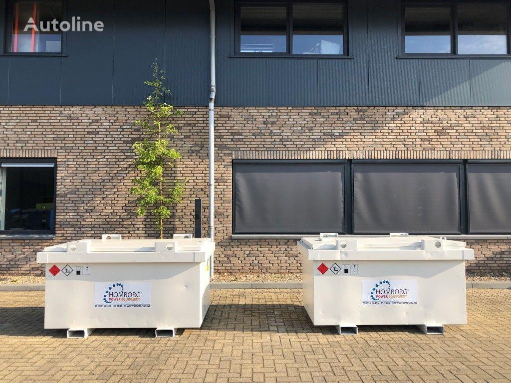 Kiwa IBC Steenbergen 1000 liter dieseltank cisterna de combustible