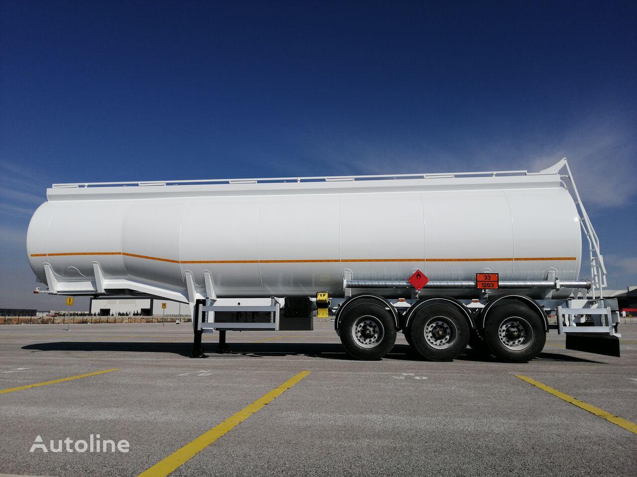 MAS TRAILER TANKER Aliminum Or Steel Fuel Oil Tanker Trailer From Factory cisterna de combustible nueva
