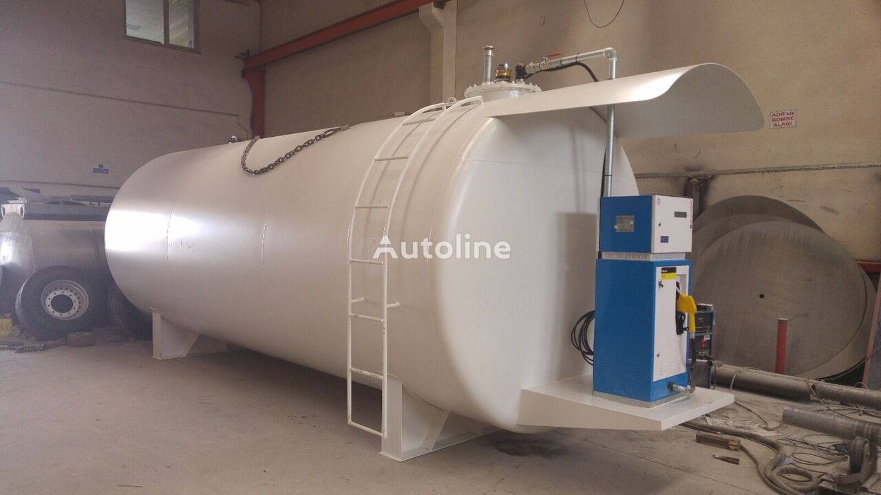 MAS TRAILER TANKER Fuel And Diesel Storage Tank (5 m3- 60 m3) From Factory cisterna de combustible nueva