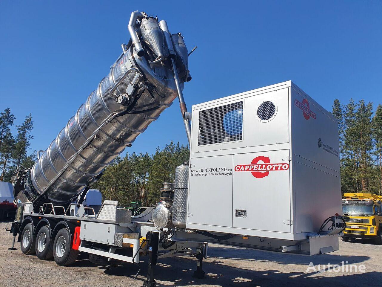 MENCI CAPPELLOTT  CAP2500 ADR Specjalistyczna autocysterna do przewozu cisterna de combustible