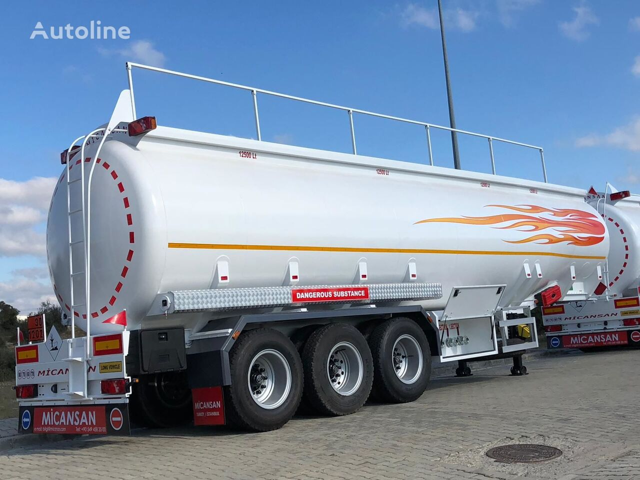 Micansan BIG DISCOUNT NEW 2021 EXCELLENT TECHNOLOGY cisterna de combustible nueva