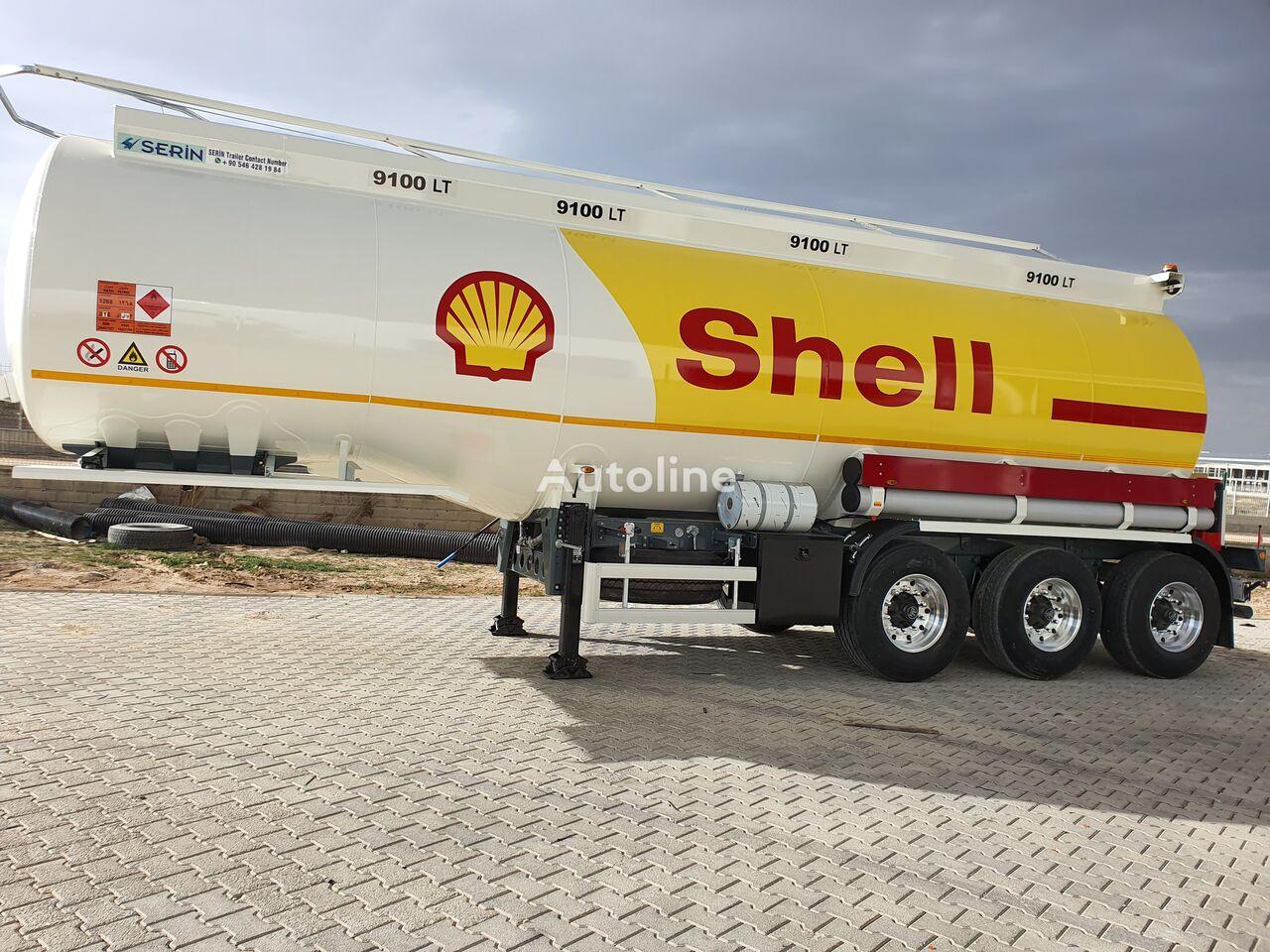 SERIN Aluminium Fuel Tank Semi Trailer cisterna de combustible nueva