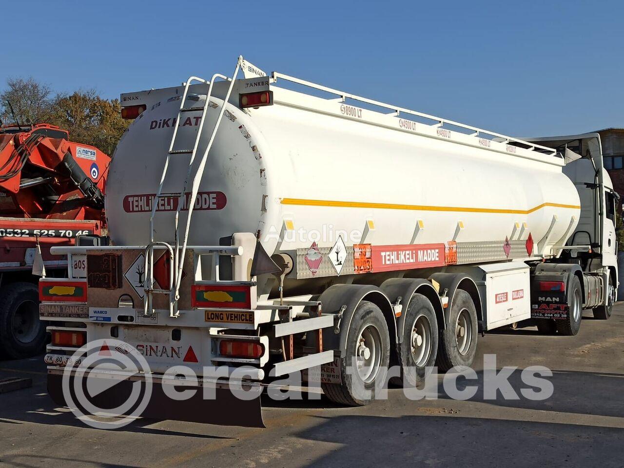 SINAN TANKER-TREYLER 2012  FUEL TANKER cisterna de combustible