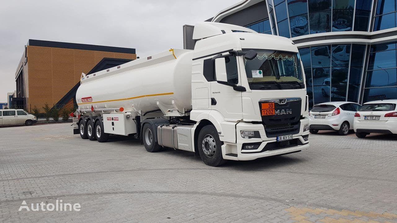 SINAN TANKER-TREYLER Aluminium Fuel Tanker Sinan cisterna de combustible nueva