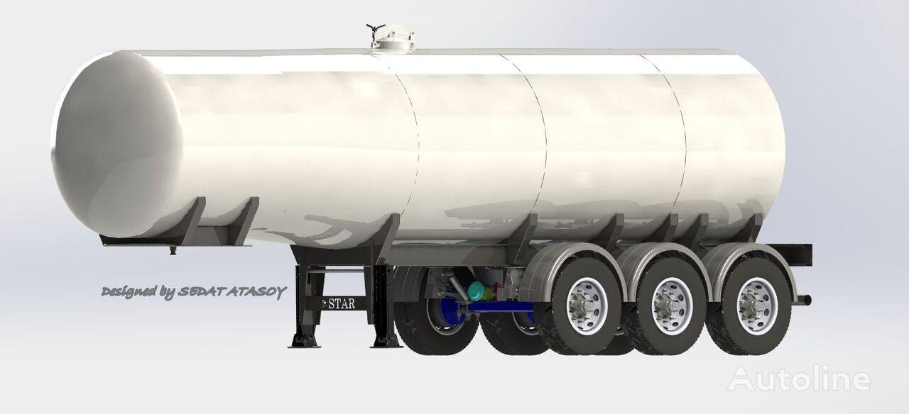 STAR TRAILER ST2021 TANKER, GASOLINE TANKER, PETROL TANKER, BITUMEN TANKER cisterna de combustible nueva