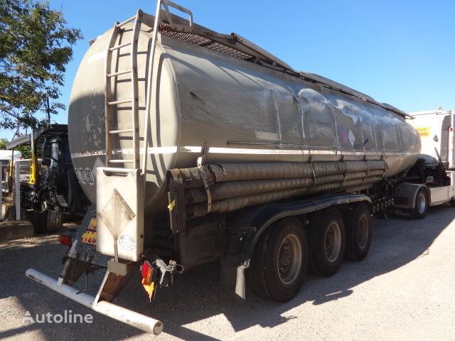 TRAILOR Fuel 40000 liters accident cisterna de combustible