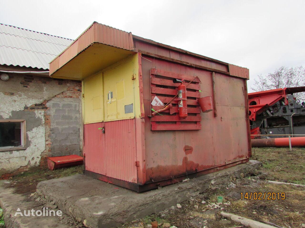 Blok-punkt AZS 8m3 cisterna de combustible