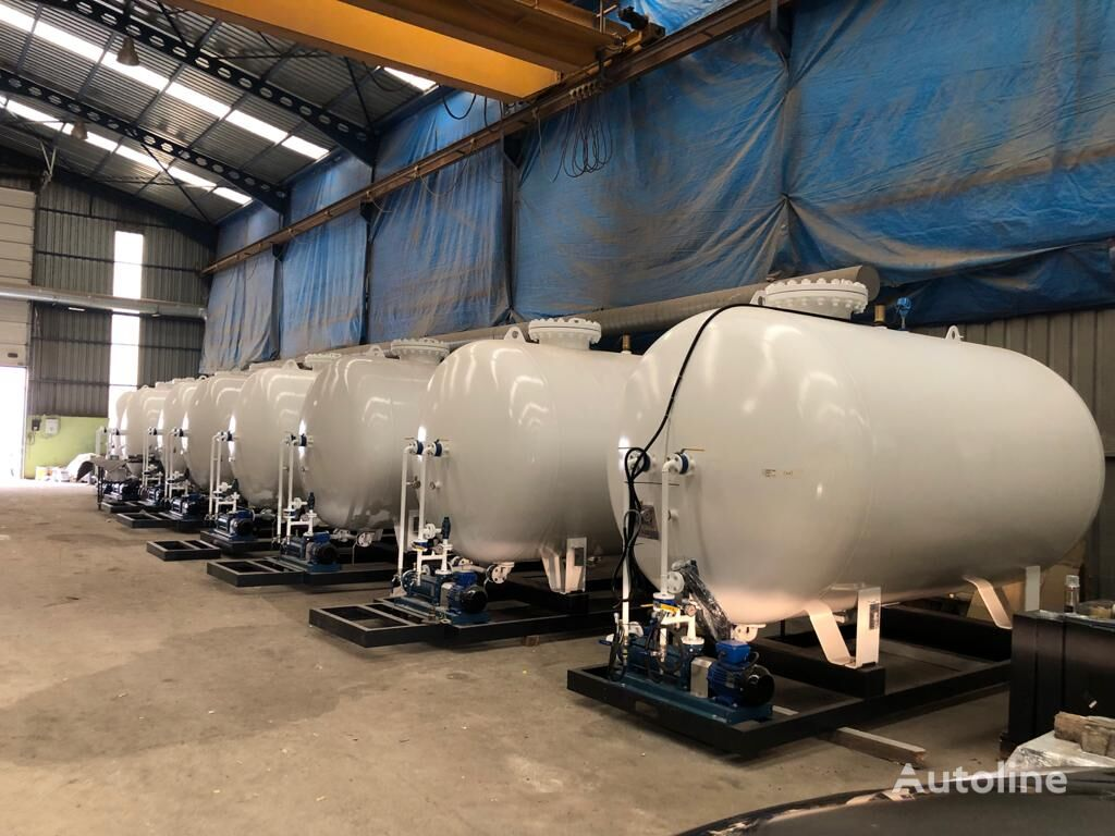 5 tons (10,000Liters-2019 model)  LPG Skid System IN STOCK LPG R cisterna de gas nueva