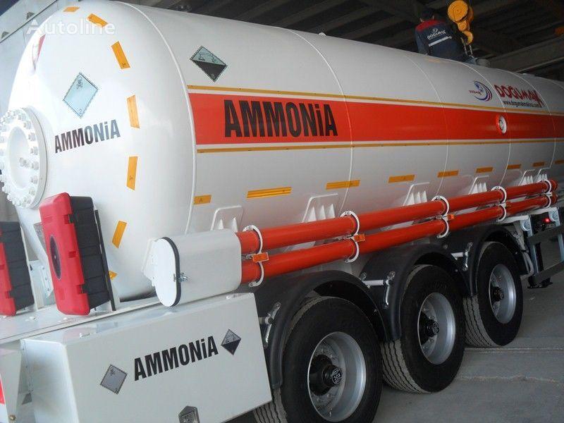 DOĞUMAK AMMONIA NH3 cisterna de gas nueva