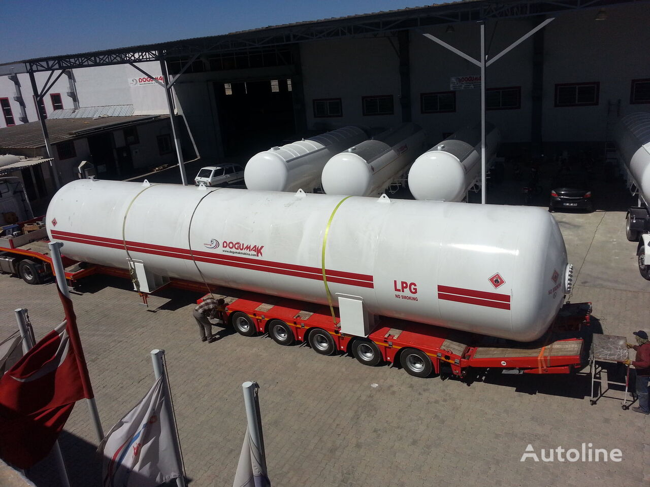 DOĞUMAK INDUSTRIAL LPG STORAGE TANKS cisterna de gas nueva