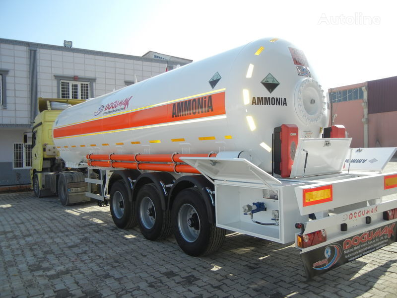 DOĞUMAK SEMI-TRAILER  35M3 AMMONIA (NH3) cisterna de gas nueva