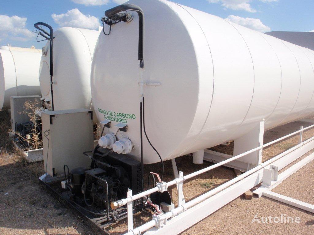 AUREPA CO2, Carbon dioxide, uglekislota, Robine, Gas, Cryogenic cisterna de gas