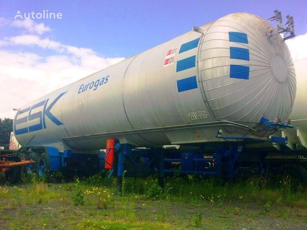 AUREPA LNG, Methane, Gas Tank, 45000 Liter, Natural gas, Air Liquide cr cisterna de gas