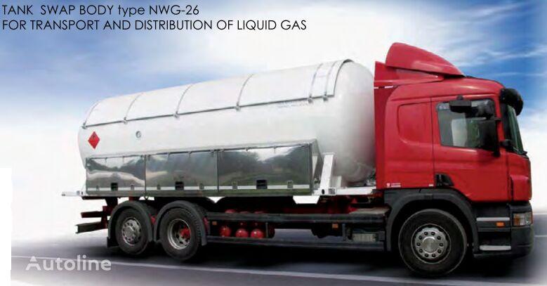 BC LDS NWG-26 cisterna de gas