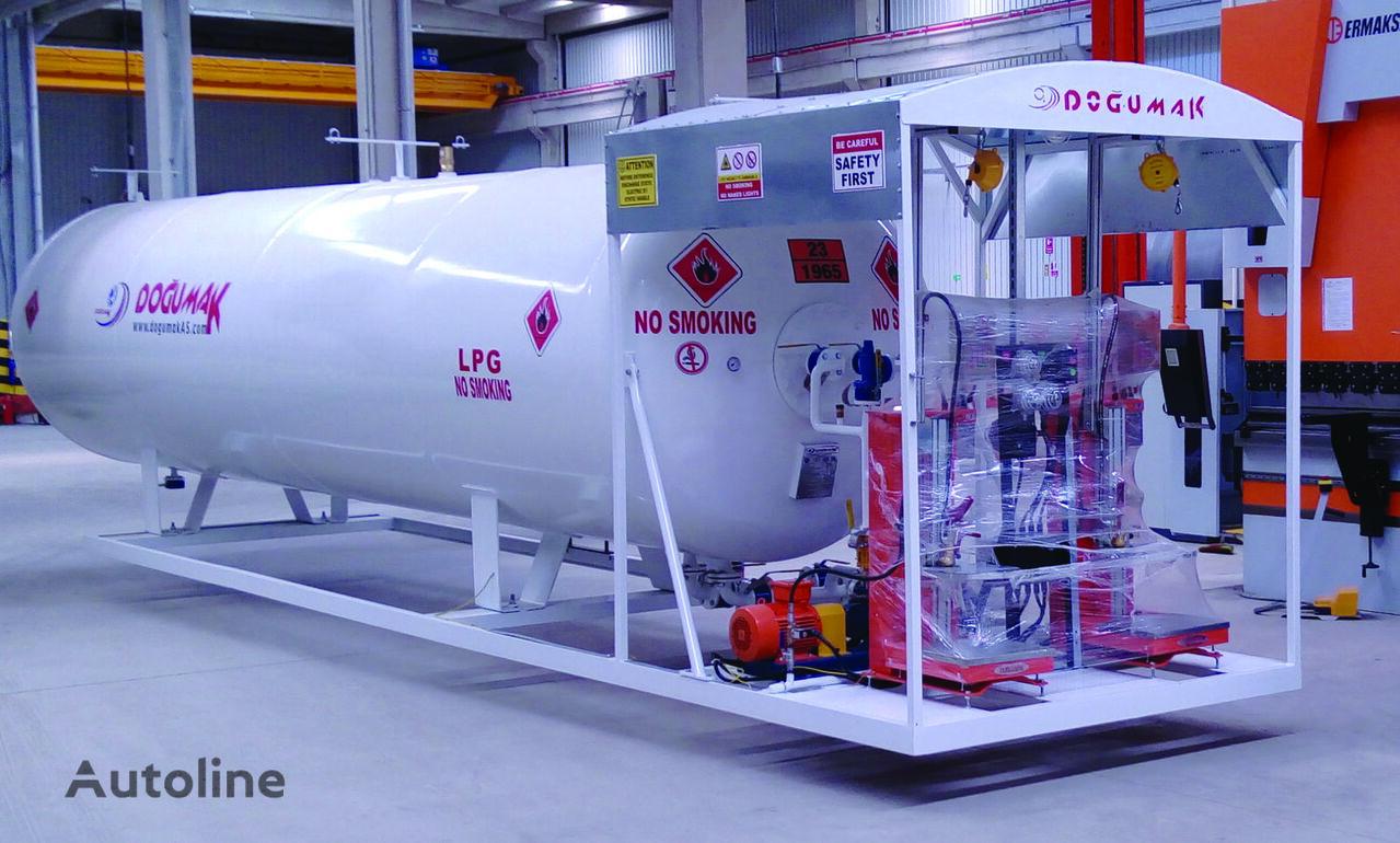 cisterna de gas DOĞUMAK 21m3 Skid System (Double Digital Scales) nueva
