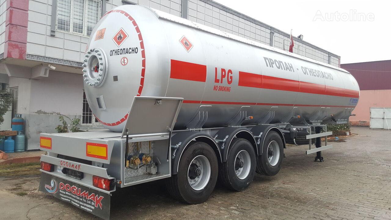 DOĞUMAK 45m3 LPG SEMI TRAILER TANKER WITH SUN PROTECTION cisterna de gas nueva