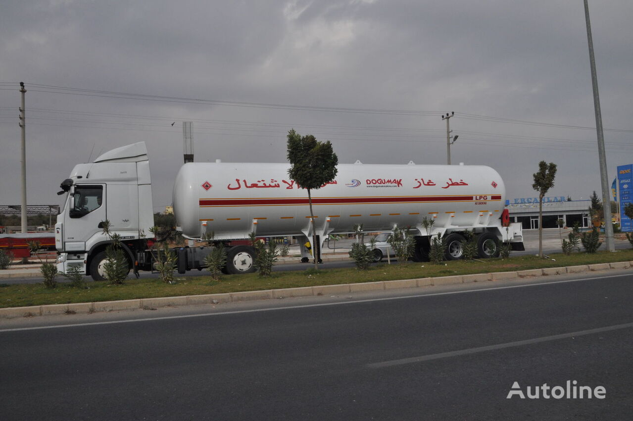 cisterna de gas DOĞUMAK YEMEN TYPE 57 M3 nueva