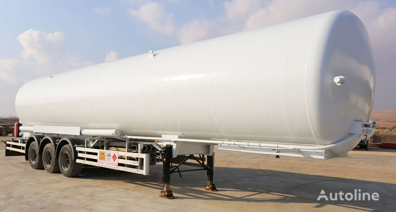 HAMAX LNSTR52 LNG SEMI-TRAILER /  BOBTAIL & STORAGE TANK cisterna de gas nueva