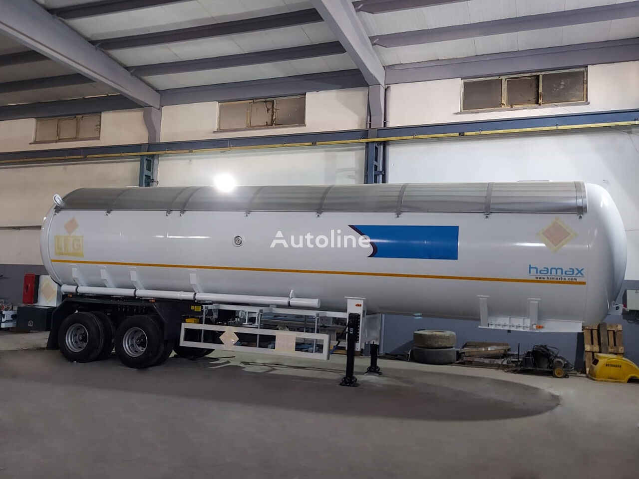 HAMAX TRBO57 LPG cisterna de gas nueva