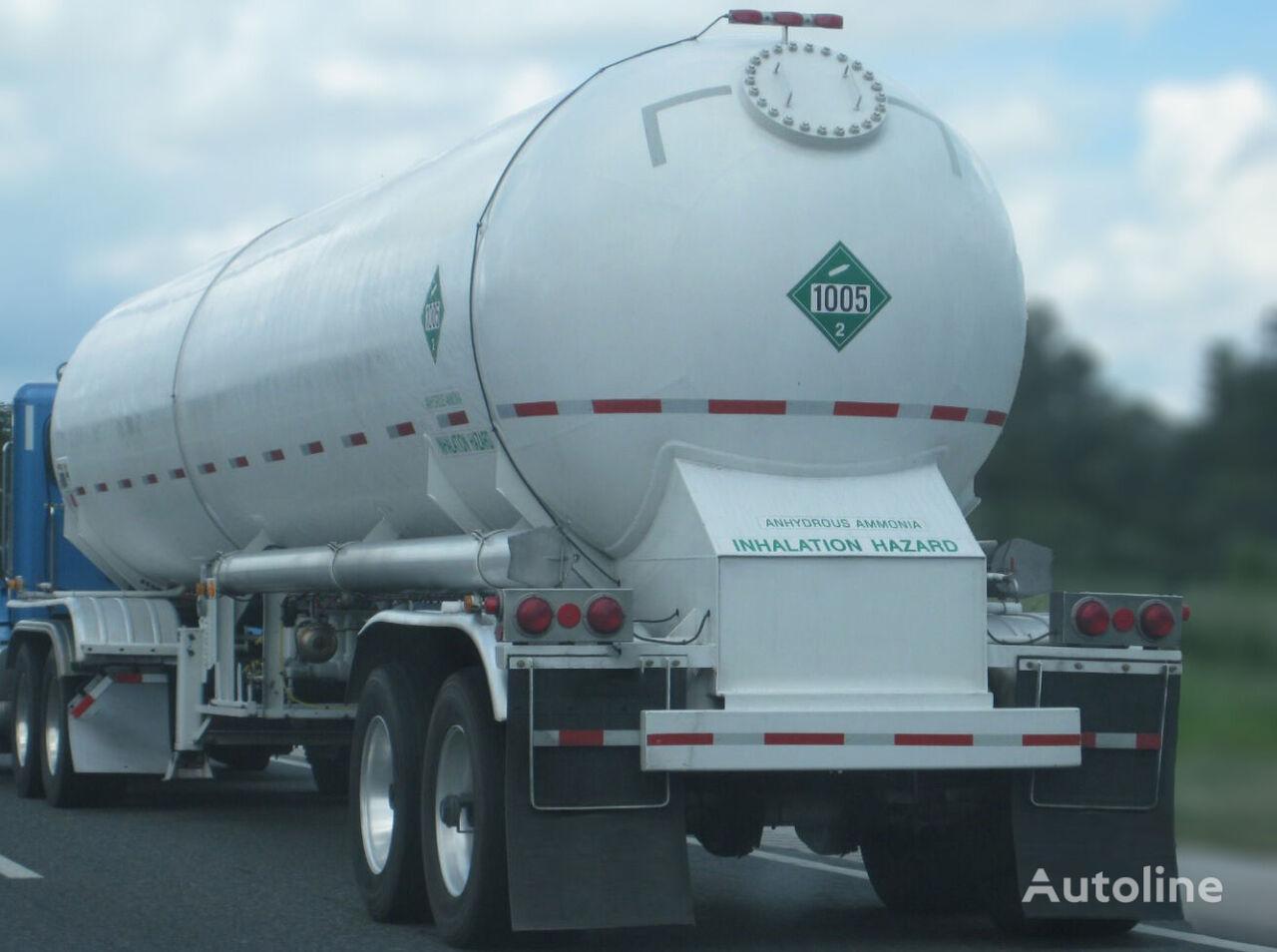 HAMAX TRNH3 - AMMONIA 45m3 TRAILER cisterna de gas nueva