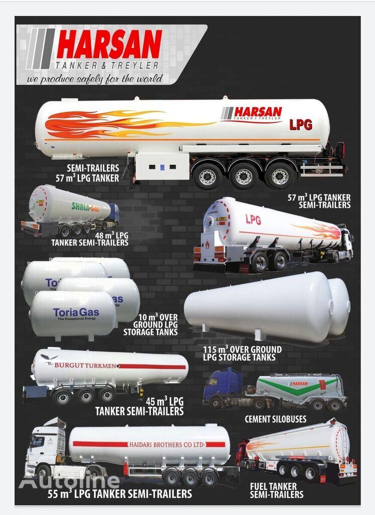 HARSAN 2021 cisterna de gas nueva