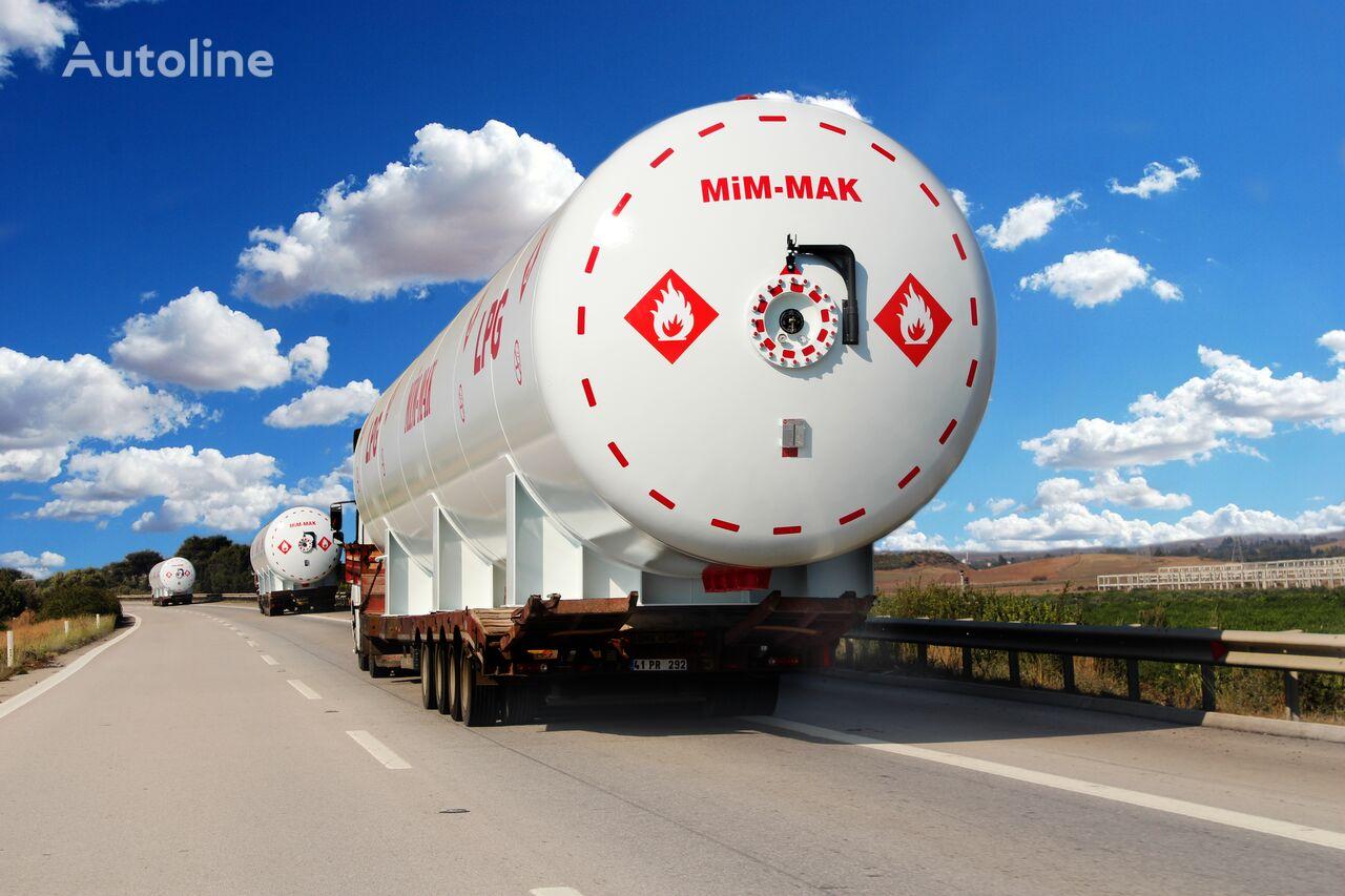 MIM-MAK LPG YER ÜSTÜ DEPOLAMA TANKI - 5 m³ / 3500 m³ cisterna de gas nueva