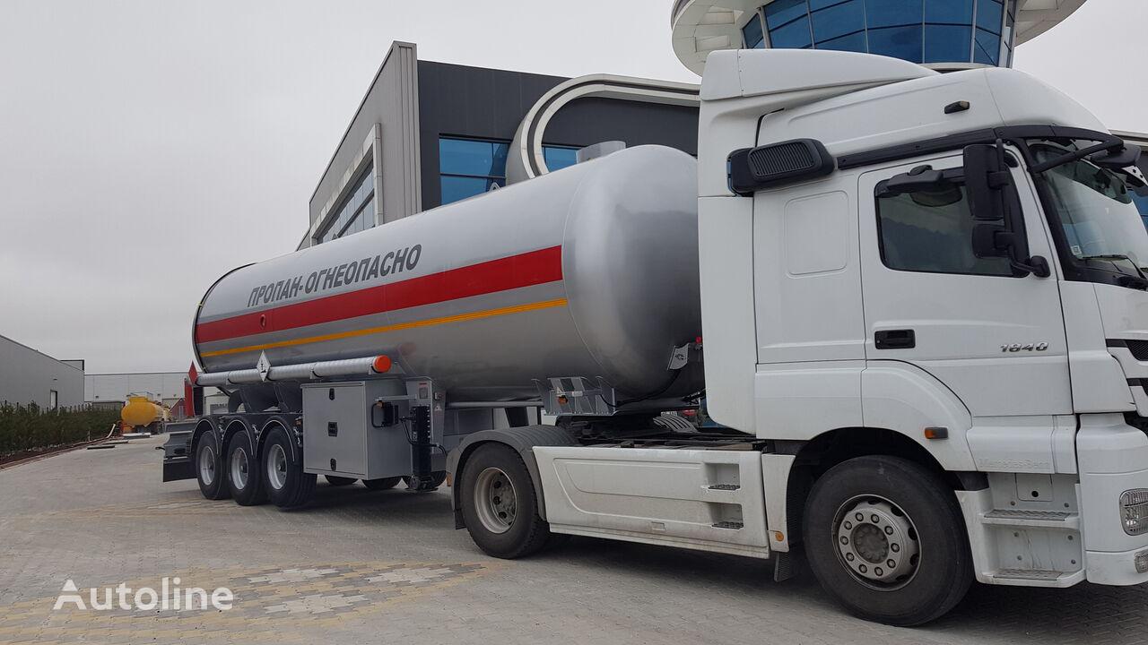 SINAN TANKER-TREYLER LPG Tanker Semitrailer - صهريج نقل الغاز LPG cisterna de gas nueva