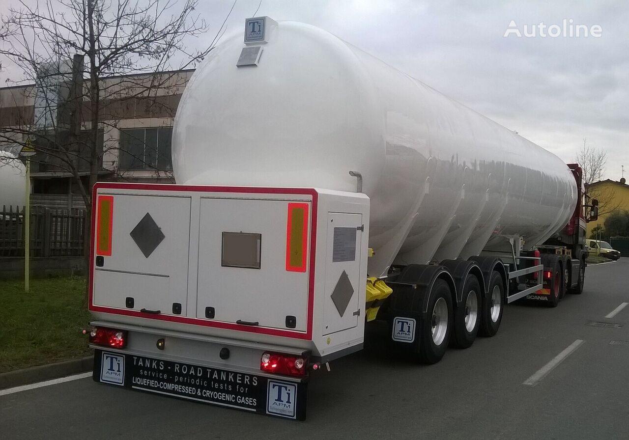 TiAPM ITALY/ LNG cisterna de gas nueva