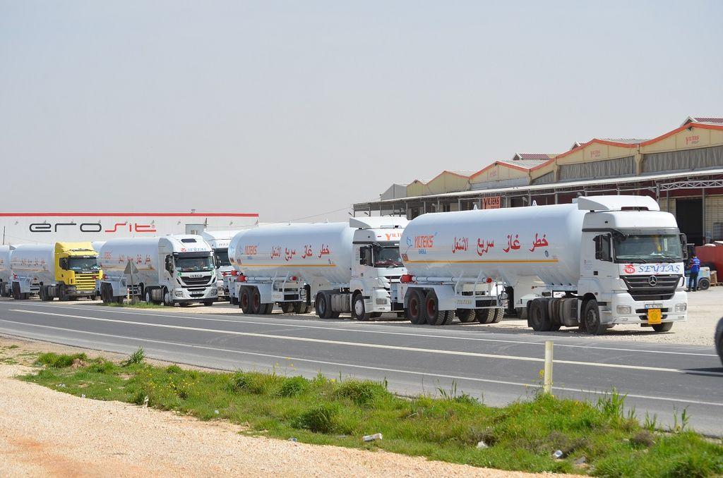 YILTEKS Trailer LPG  cisterna de gas nueva