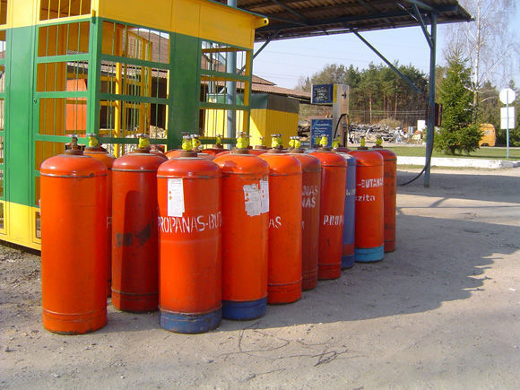 ZBA LPG cylinders PROPAN BUTAN cisterna de gas