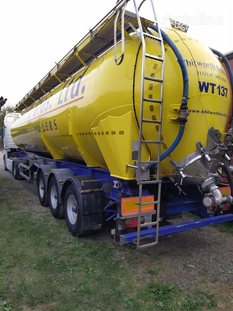 LAG cisterna para transporte de harina