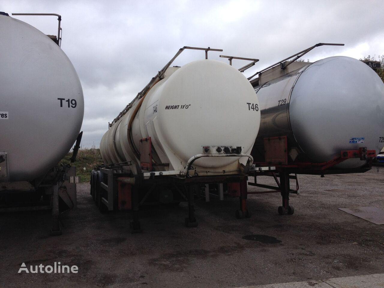CRANE FRUEHAUF T46 cisterna química