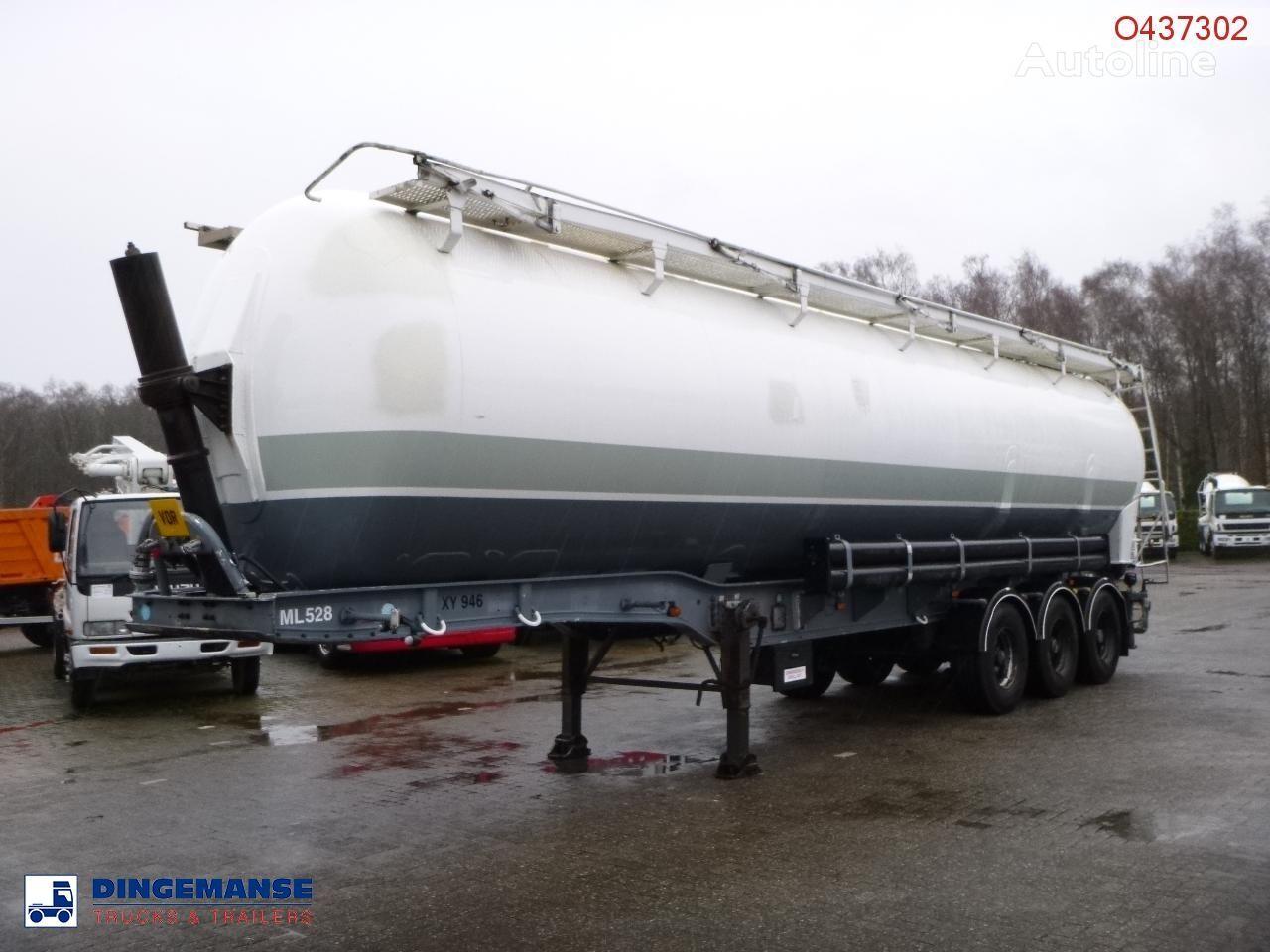 BENALU Powder tank alu 58 m3 (tipping) cisterna silo