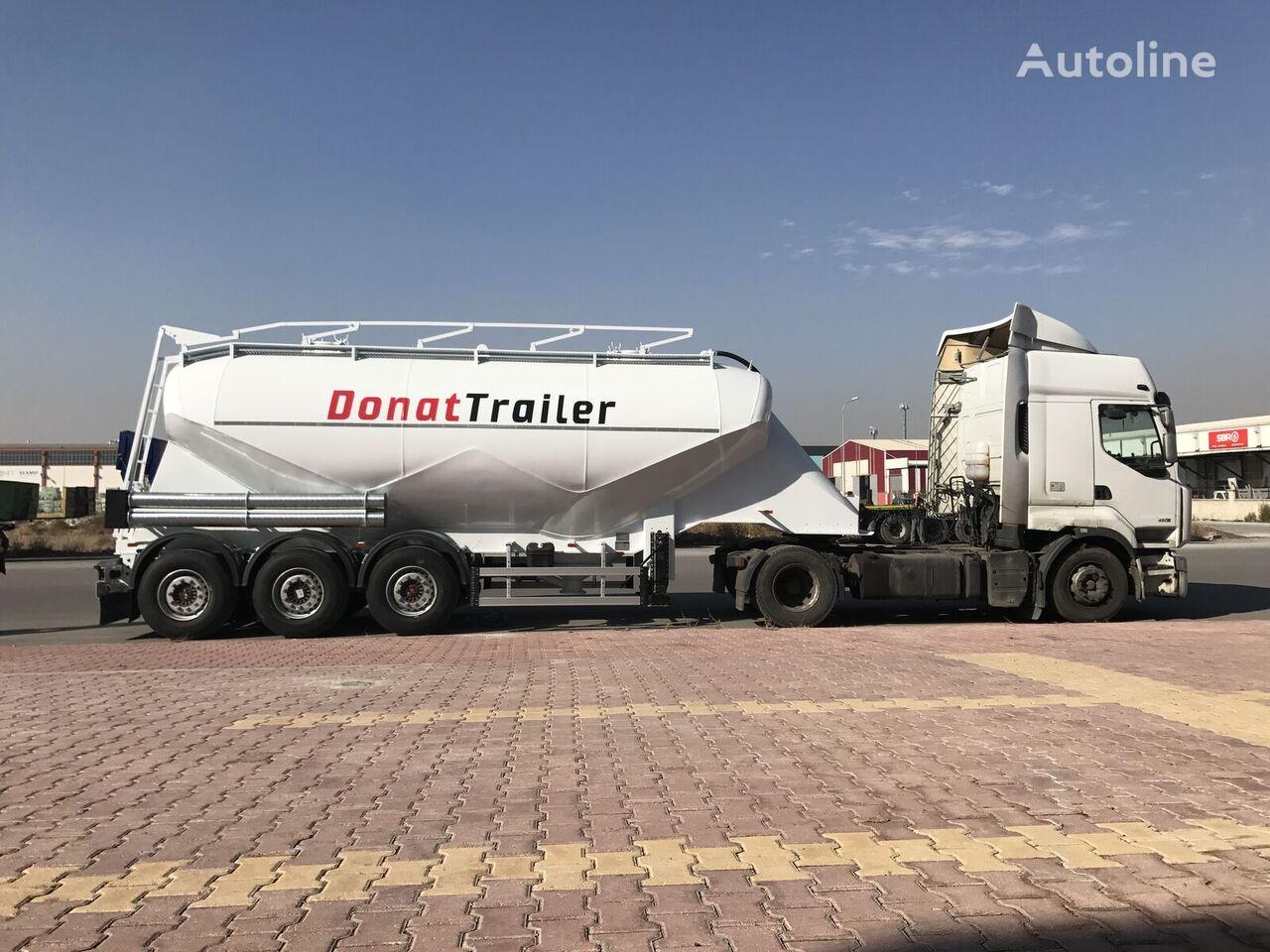 DONAT Aluminum Dry Bulk Silo - READY IN STOCK - Special Price cisterna silo nueva
